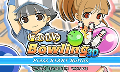 Family Bowling 3D