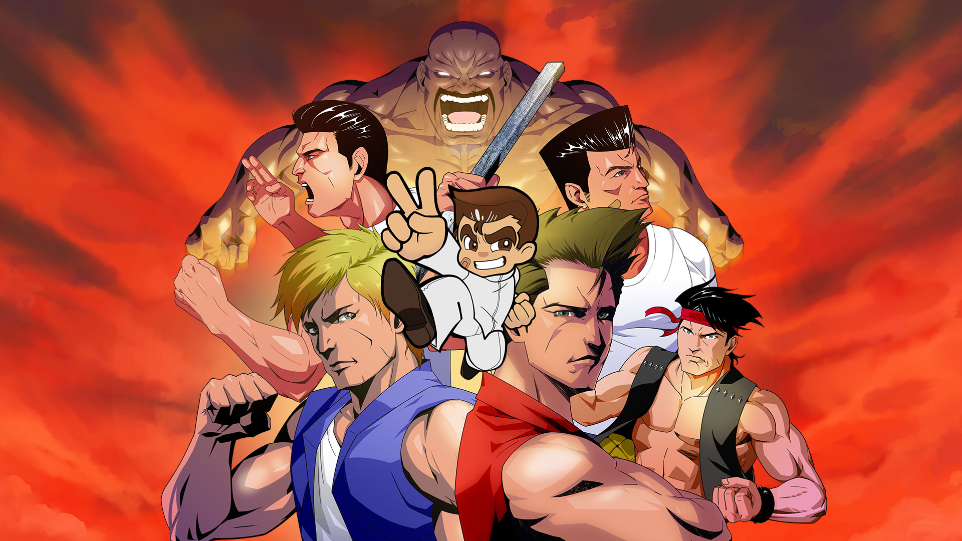 Double Dragon Kunio Kun Retro Brawler Bundle Brings 18 Classic