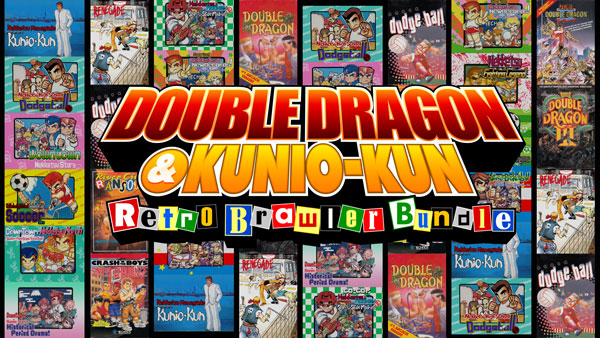 Double Dragon Kunio Kun Retro Brawler Bundle Brings 18 Classic Games To The West Later This Month Arc System Works