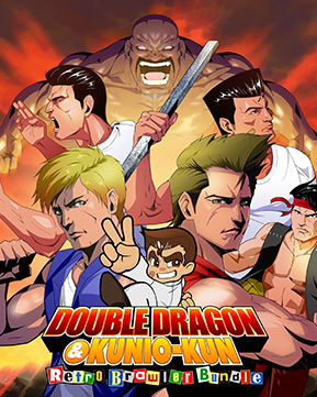 Arc System Works Double Dragon Kunio Kun Retro Brawler Bundle